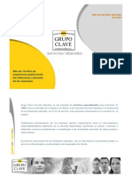 Dossier 2009 Grupo Clave Servicios Especializados