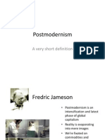Postmodernism - A Short Definition