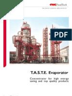 Taste Evaporator Tomato