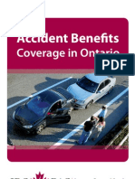 Accident Benefits Coverage in Ontario