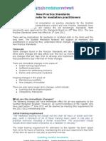 Practice Standards - Note to Members
