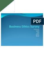 Business Ethics Survey