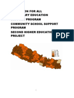 Education Program in Nepal