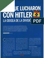La Odisea de La Division Azul Los Que Lucharon Con Hitler