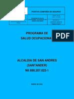 Programa Salud Ocupacional de La Alcald a de San Andr s