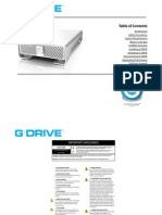 G-DRIVE User Manual