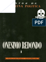 Obras Completas de Onesimo Redondo Tomo 1
