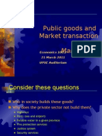 22 Public Goods and Market Transaction Cost Copy