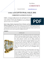 July - The Exceptional Sale