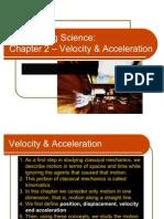 Velocity & Acc_Engineering Science DMV1032_2132