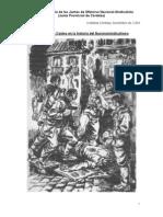 Los Primeros Caidos en La Historia Del Nacionalsindicalismo Cristobal Cordoba