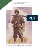 La Falange Durante La Segunda Guerra Mundial Cristobal Cordoba