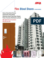 SKB Shutters Insulated Fire Steel Doors