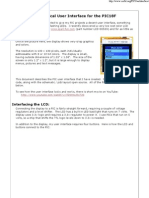 A Graphical User Interface for the PIC18F