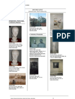 Listado de Obras Antonio Lopez