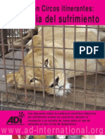 Animales en circos itinerantes