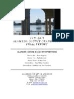 Alameda County - Grand Jury Report Final - 2011