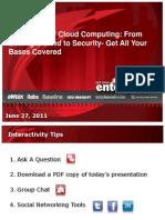 Basics of Cloud Computing IBM