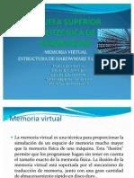 Memoria Virtual Estructura de Softwre y Hadware