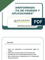 Transform Ada Discreta de Fourier y Aplicaciones
