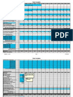 Financial Projections Model Template Fy2009 0