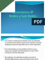 Redes y Sub Redes