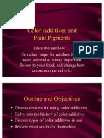 Color Additives Quinonas