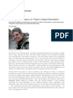 A Long Wave Theory on Todays Digital Revolution