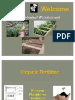 Garden Lecture