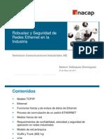 7 - Nelson Velásquez - Robustez y seguridad de redes Ethernet en la industria