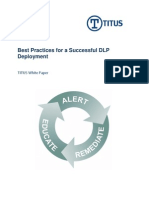 Best Practices for a Successful DLP Deployment