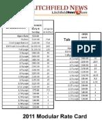 Litchfield News Rate Card