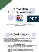 10 Best Study Strategies