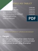 TFSP Preformulasi tablet