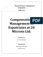Expatriates at 20 Micro Ltd.