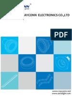 Rayconn - 2011 Catalogue of NEW LED Lights-Rayconn