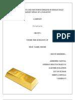 Gold case