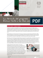 Tema Transversal Educar Para El Progreso