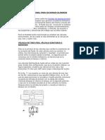 CONTROL DIRECCIONAL PARA ACCIONAR CILINDROS HIDRÁULICOS