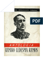 Ramiro Ledesma Ramos Antologia ANTONIO MACIPE LOPEZ