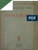 Discursos Raimundo Fernandez Cuesta 1942