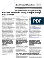 June 28, 2011 - The Federal Crimes Watch Daily