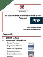 SNIP-PERU