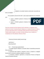 Legea 260 feb 2011