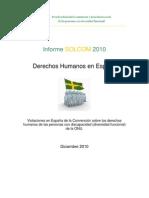 Informe SOLCOM 2010