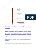 RESEÑA DEL LIBRO CRIMEN ORGANIZADO TRANSNACIONAL Y SEGURIDAD (WEB de FSC)