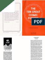 Shankaranarayanan - The Ten Great Cosmic Powers