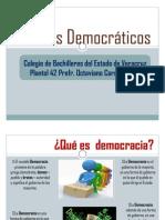 VALORES DEMOCRÁTICOS