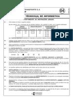 PROVA 04 - AUXILIAR TÉCNICO(A) DE INFORM¦TICA