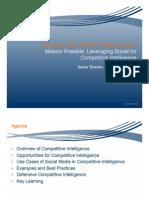 Alterian Competitive Intelligence Webinar_ROI Series VFinal_1214